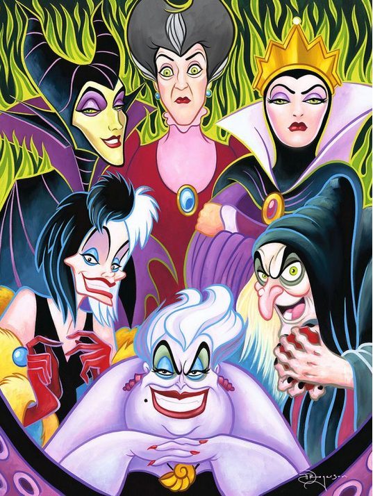 Disney Villains Female