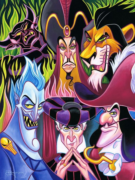 Disney Villains Male
