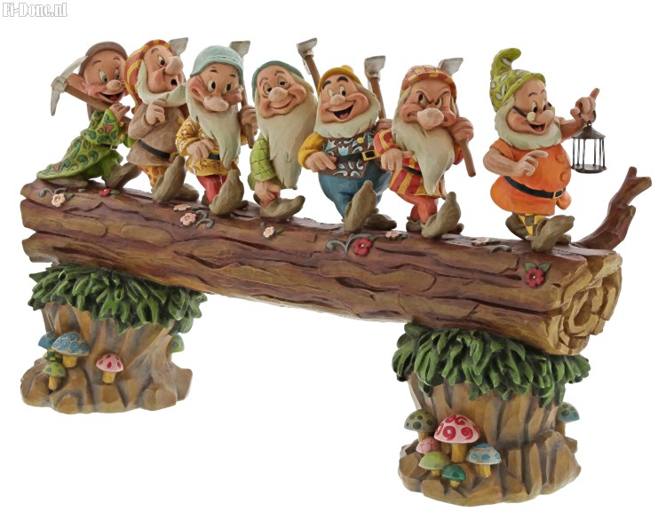 Dwarfs on Log